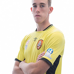 BRISBANE, AUSTRALIA - MARCH 17: Nick Milner poses for a photo during the Brisbane Roar Youth headshot session at QUT Kelvin Grove on March 17, 2017 in Brisbane, Australia. (Photo by Patrick Kearney/Brisbane Roar)