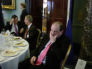 Gordon Brown, Robert Olsen and Jim Naughtie, Political Studies Association Awards 2004. Institute of Directors, Pall Mall. London SW1. 30 November 2004.  ONE TIME USE ONLY - DO NOT ARCHIVE  © Copyright Photograph by Dafydd Jones 66 Stockwell Park Rd. London SW9 0DA Tel 020 7733 0108 www.dafjones.com