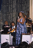 Sarah Vaughan Sings with the Count Basie Orchestra on the 1974 SS Rotterdam Jazz Cruise.
