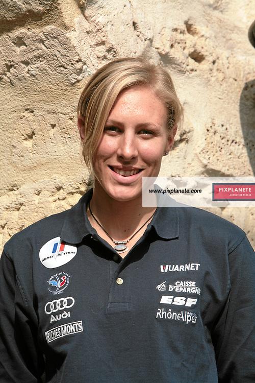 Ingrid Jacquemod - Ski Alpin - présentation de l'équipe de France de ski 2007-2008 - Photos exclusives - Paris, le 9/10/2007 - JSB / PixPlanete