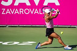 PORTOROZ, SLOVENIA - SEPTEMBER 18: Yulia Putintseva of Kazakhstan competes during the Semifinals of WTA 250 Zavarovalnica Sava Portoroz at SRC Marina, on September 18, 2021 in Portoroz / Portorose, Slovenia. Photo by Matic Klansek Velej / Sportida