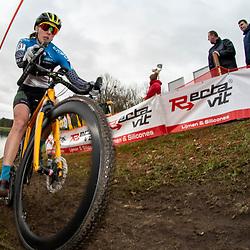 21-12-2019: Cycling : Waaslandcross Sint Niklaas: Mari-Liis Möttus(EST)