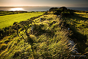 Bwrdd Arthur (Arthur's Table in English), also known as Din Sylwy is a flat topped limestone hill on the island of Anglesey. Located at the eastern end of Red Wharf Bay, approximately 3 kilometres north west of Llangoed. It is the site of a an ancient hill fort dating pre Roman.