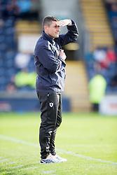 Raith Rovers Player-Coach Grant Murray.<br /> Raith Rovers 0 v 0 Falkirk, Scottish Championship game played 27/9/2014 at Raith Rovers Stark Park.