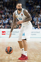 Real Madrid Jeffery Taylor during Turkish Airlines Euroleague match between Real Madrid and Khimki Moscow at Wizink Center in Madrid, Spain. November 02, 2017. (ALTERPHOTOS/Borja B.Hojas)