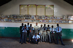 © Licensed to London News Pictures. 02/02/2014. Iten, Kenya. Running in Africa feature. Students at the famous St. Patrick's school. Photo credit : Mike King/LNP