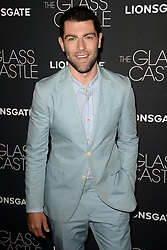 August 9, 2017 - New York, NY, USA - August 9, 2017  New York City..Max Greenfield attending 'The Glass Castle' film premiere on August 9, 2017 in New York City. (Credit Image: © Kristin Callahan/Ace Pictures via ZUMA Press)