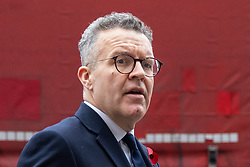 © Licensed to London News Pictures. 06/11/2018. London, UK. Tom Watson Deputy Leader of the Labour Party arrives for a Service at St Margaret's Church, Westminster to mark the Centenary of the end of the First World War. Parliamentarians from the House of Commons and House of Lords gathered to remember the sacrifices of those parliamentarians, parliamentary officers and staff who gave their lives during the First World War, or who were injured. Photo credit : Tom Nicholson/LNP