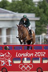 De Miranda Neto Alvaro (BRA)  - AD Rahmannshof's Bogeno<br /> Olympic Games London 2012<br /> © Dirk Caremans
