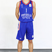 Anadolu Efes's Zekeriya Yigit Tekin during the 2020-2021 Garanti BBVA BGL Media Day at the Anadolu Efes Sports Hall on February 02, 2021 in İstanbul, Turkey. Photo by Aykut AKICI/TURKPIX