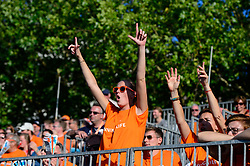 17.07.2018, Apeldoorn, Marktplein<br /> Beachvolleyball, 2018 CEV DELA Beach Volleyball European Championship<br /> <br /> <br /> <br /> Foto: Conny Kurth / www.kurth-media.de
