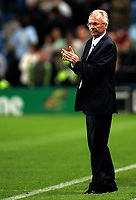 Photo: Paul Thomas.<br />Manchester City v Derby County. The FA Barclays Premiership. 15/08/2007.<br /><br />A happy Sven Goran Eriksson, manager of City, claps off his team at the end of the game.