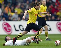 Fotball<br /> Bundesliga<br /> Borussia Dortmund v Bochum<br /> 4. april 2004<br /> Foto: Digitalsport<br /> Norway Only<br /> <br /> Miroslav STEVIC , Torsten FRINGS Dortmund