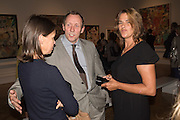 LADY SARAH CHATTO, DAVID DAWSON; TRACEY EMIN Opening of Abstract Expressionism, Royal Academy, Piccadilly, London, 20 September 2016