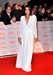 Faye Brookes attending the National Television Awards 2018 held at the O2 Arena, London. PRESS ASSOCIATION Photo. Picture date: Tuesday January 23, 2018. See PA story SHOWBIZ NTAs. Photo credit should read: Matt Crossick/PA Wire