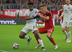 08.12.2018, 1.BL, FCB vs 1.FC Nuernberg, Allianz Arena Muenchen, Fussball, Sport, im Bild:..Virgil Misidjan ( 1.FC Nuernberg ) vs Joshua Kimmich (FCB)..DFL REGULATIONS PROHIBIT ANY USE OF PHOTOGRAPHS AS IMAGE SEQUENCES AND / OR QUASI VIDEO...Copyright: Philippe Ruiz..Tel: 089 745 82 22.Handy: 0177 29 39 408.e-Mail: philippe_ruiz@gmx.de. (Credit Image: © Philippe Ruiz/Xinhua via ZUMA Wire)