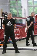 Boxen: Agon Sports, Berlin, 17.07.2020<br /> Trainer Michael Stachewicz<br /> © Torsten Helmke