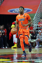 10 December 2016:   Matthew Butler during an NCAA  mens basketball game between the UT Martin Skyhawks and the Illinois State Redbirds in a non-conference game at Redbird Arena, Normal IL