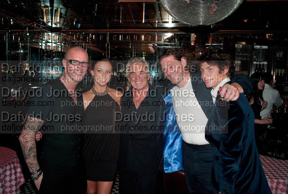 ADEE PHELAN; BELLA WRIGHT; ; PETER STRINGFELLOW; MARCO PIERRE WHITE; LUCIANO PIERRE WHITE, , launch of  Adee Phelan's Fabulous Haircare Range, Frankie's Italian Bar and Grill, 3 Yeomans Row, off Brompton Road, London SW3, 7pm *** Local Caption *** -DO NOT ARCHIVE-© Copyright Photograph by Dafydd Jones. 248 Clapham Rd. London SW9 0PZ. Tel 0207 820 0771. www.dafjones.com.<br /> ADEE PHELAN; BELLA WRIGHT; ; PETER STRINGFELLOW; MARCO PIERRE WHITE; LUCIANO PIERRE WHITE, , launch of  Adee Phelan's Fabulous Haircare Range, Frankie's Italian Bar and Grill, 3 Yeomans Row, off Brompton Road, London SW3, 7pm