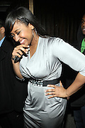 Jasmine Sullivan at The Dream's Black Tie Album Release Party held at The Hiro Ballroom on March 11, 2008 in New York City.  ..The Dream- Platinum-selling, award-winning, R&B Recording Artist, Writer and Producer, whose sophomore album, Love vs. Money, out NOW!