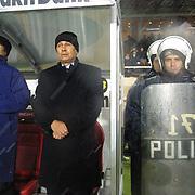 Turkish Soccer...<br /> Super League derby match Galatasaray between Besiktas. Besiktas head coach mircea Lucescu during their AliSamiYen Stadium Istanbul/Turkey<br /> Photo by Aykut AKICI/TurkSporFoto