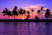Waikoloa Beach Sunset Big Island Hawaii
