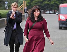 Former SNP MP Natalie McGarry trial starts, Glasgow, 24 April 2019