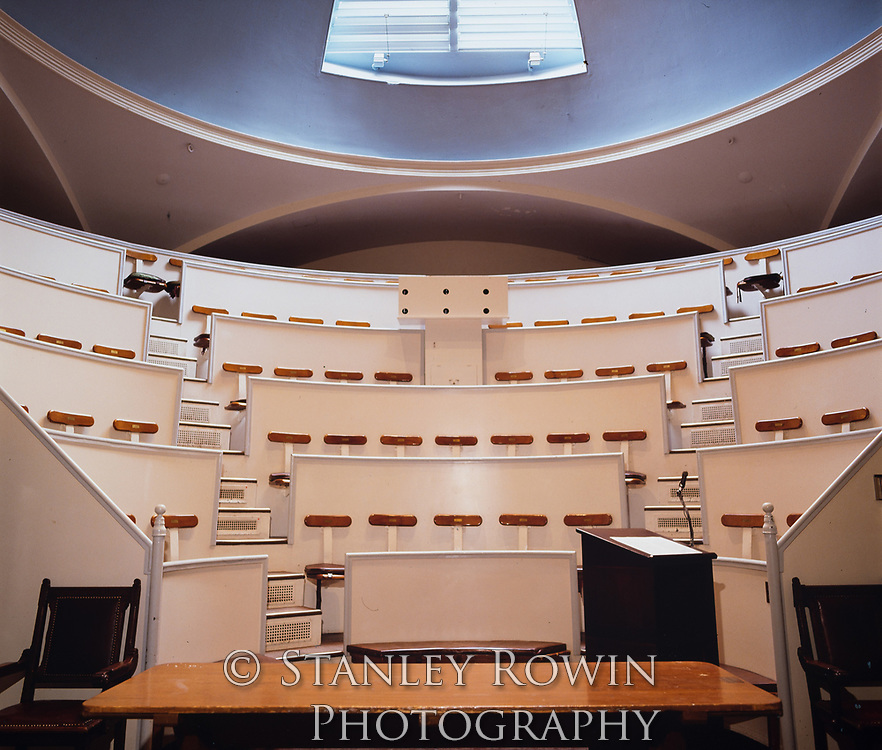 The Ether Dome in the Bulfinch Building at Massachusetts General Hospital in Boston. It was the hospital's operating room from 1821 until 1867.