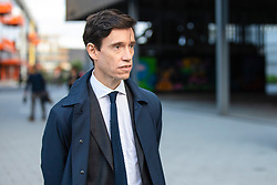© Licensed to London News Pictures. 16/06/2019. London, UK. Rory Stewart MP after taking part in the first televised debate between Conservative Party leadership contenders. Frontrunner Boris Johnson did not take part in the Channel 4 debate. Photo credit: Rob Pinney/LNP