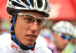 Robert Kiserlovski of Croatia (Adria Mobil) just before start in last 4th stage of the 15th Tour de Slovenie from Celje to Novo mesto (157 km), on June 14,2008, Slovenia. (Photo by Vid Ponikvar / Sportal Images)/ Sportida)