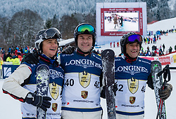 20.01.2018, Hahnenkamm, Kitzbühel, AUT, FIS Weltcup Ski Alpin, Kitzbuehel, Kitz Charity Trophy, im Bild v.l.: Lutz Meschke, Oliver Blume, Michael Steiner // f.l.: Lutz Meschke Oliver Blume Michael Steiner during the Kitz Charity Trophy of the FIS Ski Alpine World Cup at the Hahnenkamm in Kitzbühel, Austria on 2018/01/20. EXPA Pictures © 2018, PhotoCredit: EXPA/ Stefan Adelsberger