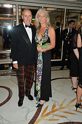 LT.GEN.SIR GRAEME & LADY LAMB at the David Shepherd Wildlife Foundation Wildlife Ball at The Dorchester, Park Lane, London on 9th October 2015.