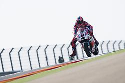 September 23, 2017 - AlcañIz, Teruel, Spain - 9 Danilo Petrucci (Italian) Octo Pramac Racing Ducati in the free practice of the Gran Premio Movistar de Aragon, Circuit of Motorland, Alcañiz, Spain. Saturday, 23rd september, 2017. (Credit Image: © Jose Breton/NurPhoto via ZUMA Press)