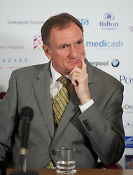 LIVERPOOL, ENGLAND - Wednesday, April 18, 2012: Liverpool International Ambassador Phil Thompson during a press conference to launch of the 2012 Liverpool International Tennis Tournament at the Hilton Hotel. (Pic by David Rawcliffe/Propaganda)