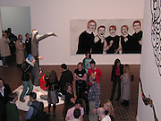 The Americans.-New Art. Barbican. 24 October 2001. © Copyright Photograph by Dafydd Jones 66 Stockwell Park Rd. London SW9 0DA Tel 020 7733 0108 www.dafjones.com