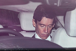 © Licensed to London News Pictures. 18/06/2019. London, UK. Secretary of State for International Development Rory Stewart arrives at Parliament for the second round of voting on the next Leader of the Conservative Party. Candidates will take part in a live TV debate this evening. Photo credit: Rob Pinney/LNP