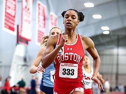 David Hemery Valentine Invitational<br /> Indoor Track & Field at Boston University , womens 400 meters, heat 4, BU,
