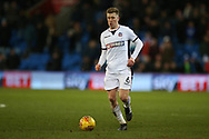Josh Vela of Bolton Wanderers in action. EFL Skybet championship match, Cardiff city v Bolton Wanderers at the Cardiff city Stadium in Cardiff, South Wales on Tuesday 13th February 2018.<br /> pic by Andrew Orchard, Andrew Orchard sports photography.