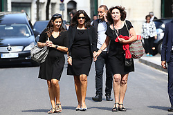 Anne Hidalgo attending the funeral ceremony of French designer Sonia Rykiel at the Montparnasse cemetery in Paris, France on September 1, 2016. The 86 years old pioneer of Parisian womenswear from the late 1960's onwards, has died from a Parkinson's disease-related illness. Photo by ABACAPRESS.COM