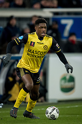 Tsiy William Ndenge of Roda JC during the Dutch Eredivisie match between sc Heerenveen and Roda JC Kerkrade at Abe Lenstra Stadium on February 10, 2018 in Heerenveen, The Netherlands
