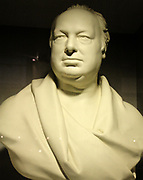 Bust of Henry Maudslay. British Machineool inventor who lived between 1771-1831. Considered to be the founding father of machine tool technology. Made by Sir Francis Legatt Chantrey.