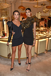 Amy Jackson and Neelam Gill at the reopening of the Cartier Boutique, New Bond Street, London, England. 31 January 2019. <br /> <br /> ***For fees please contact us prior to publication***