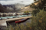Convict Lake. Route 395: Eastern Sierra Nevada Mountains of California.