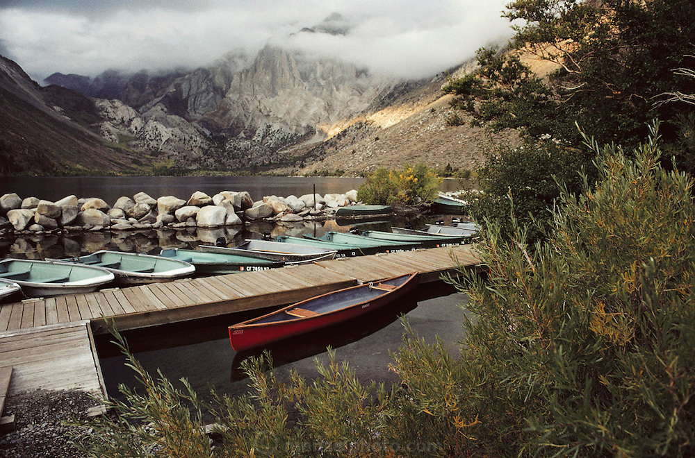 Convict Lake. Route 395: Eastern Sierra Nevada Mountains of California.