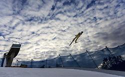 02.01.2016, Bergisel Schanze, Innsbruck, AUT, FIS Weltcup Ski Sprung, Vierschanzentournee, Qualifikation, im Bild Gregor Deschwanden (SUI) // Gregor Deschwanden of Switzerland during his Qualification Jump for the Four Hills Tournament of FIS Ski Jumping World Cup at the Bergisel Schanze, Innsbruck, Austria on 2016/01/02. EXPA Pictures © 2016, PhotoCredit: EXPA/ JFK