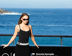 September 22, 2018 - San Sebastian, Spain - Lily-Rose Depp attends the 'A Faithful Man Photocall' during the 66th San Sebastian Film Festival in San Sebastian on September 22, 2018 in San Sebastian, Spain. (Credit Image: © Manuel Romano/NurPhoto/ZUMA Press)