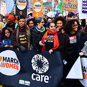 Shola Mos-Shogbamimu, Sandi Toksvig join March4Women 2020, on 8 March 2020, London, UK.