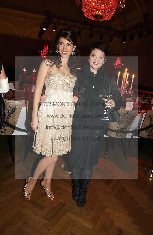 Left to right, model KELLY BROOK and LULU GUINNESS at the 6th annual Lancome Colour Design Awards in association with CLIC Sargent Cancer Care held at Lindley Hall, Victoria, London on 28th November 2006.<br /><br />NON EXCLUSIVE - WORLD RIGHTS