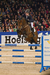 Brinkman Tom (NED) - Amadeus<br /> KWPN Hengstenkeuring - 's Hertogenbosch 2012<br /> © Dirk Caremans