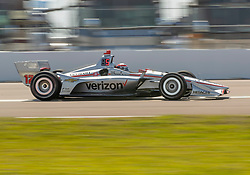 March 9, 2019 - St. Petersburg, FL, U.S. - ST. PETERSBURG, FL - MARCH 09: Team Penske driver Will Power (12) of Australia during the NTT IndyCar Series - Firestone Grand Prix Qualifying on March 9 in St. Petersburg, FL. (Photo by Andrew Bershaw/Icon Sportswire) (Credit Image: © Andrew Bershaw/Icon SMI via ZUMA Press)